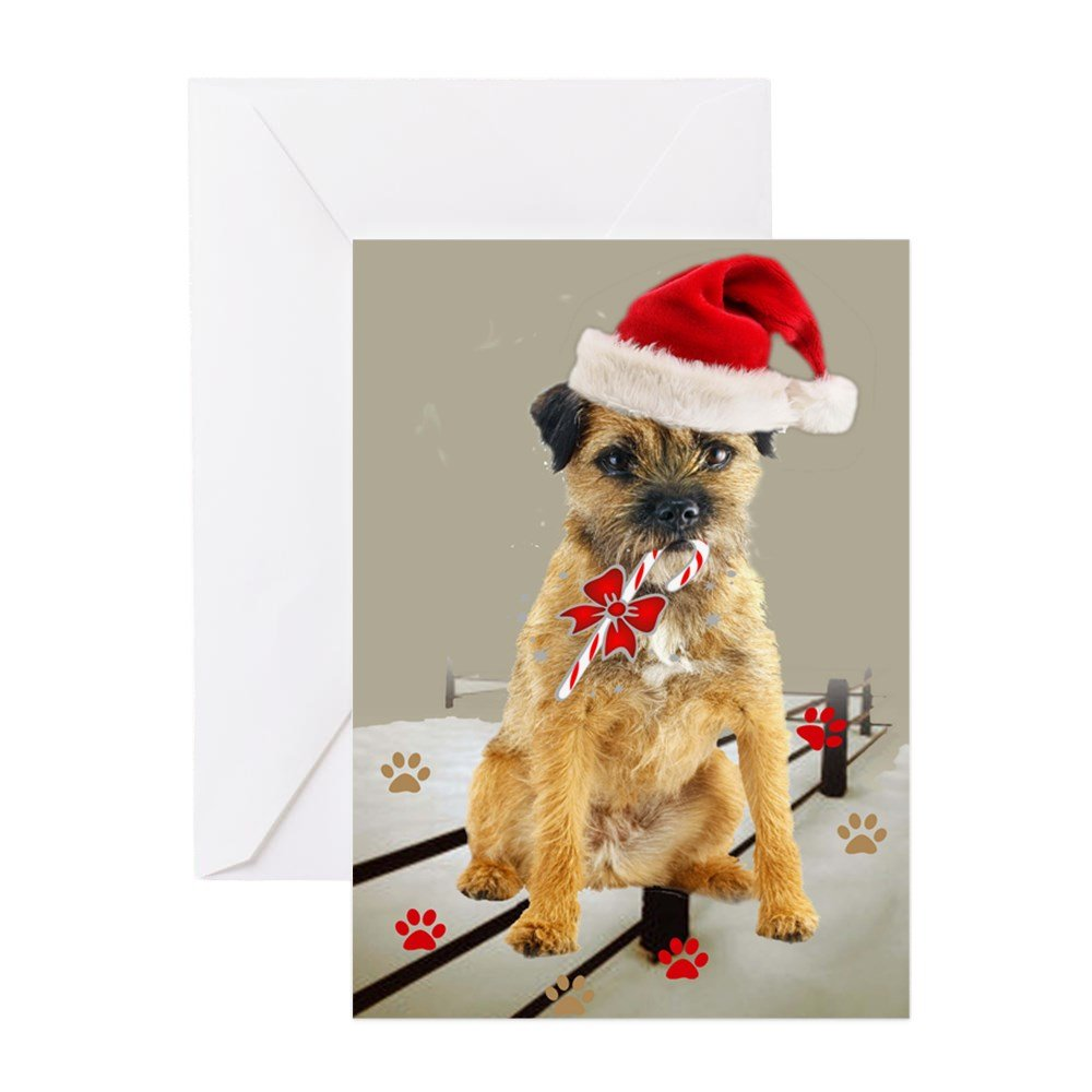 10 notecards Border Terrier notecards