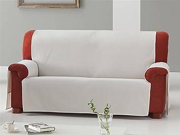 LaNovenaNube - Funda sofa ZOCO 2 plazas color Blanco: Amazon ...