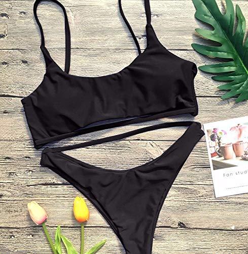 coloré Oudan M De Bain Maillot Taille Noir Bikini wx64YwZ