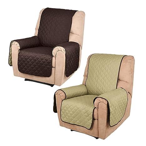 KINLO Cubre sofá/Funda de sofá/Protector para sofás Anti Sucio, Evitar el rascado para Mascota - 1 Plaza(177cm*56cm),Ambos Lados están ...