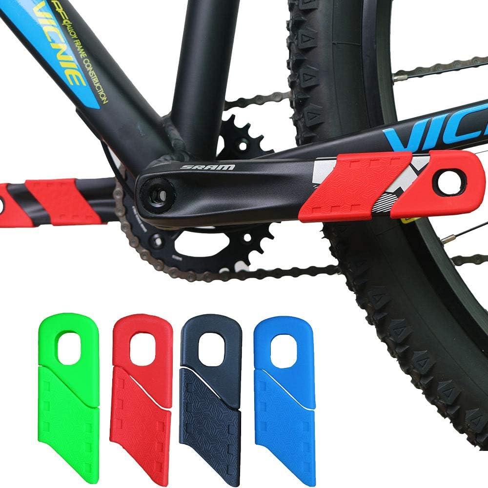 1 Pair Bicycle Protectors Crank Arm Boots Soft Bike MTB Crankset Protective