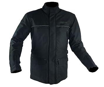 RIDER-TEC chaqueta moto invierno 3/4 etanche – Carcasa CE, Negro,