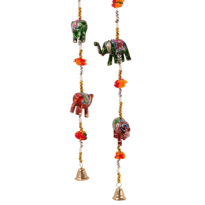 Pindia u0027Rajasthani Elephantu0027 Paper Mache Door Hanging Set (Set of 2)  sc 1 st  Amazon India & Wall Decor u0026 Hangings: Buy Wall Decor u0026 Hangings Online at Low ... pezcame.com