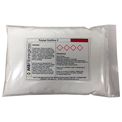 Polycraft polifibra II - Poliuretano engrosamiento fibras para caucho y plásticos líquido - 1 kg