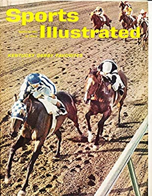 3/12 1962 Kentucky Derby no label sports illustrated