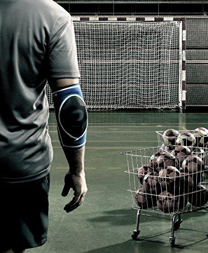Rehband Herren Ellenbogenschoner 7721 Handball blau