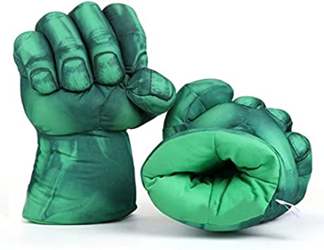 Soft Plush Boxing Gloves Toys Cosplay Costume Props for Kids Halloween Gifts