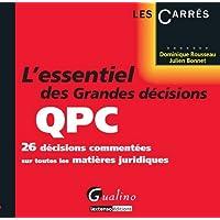 L'essentiel grandes décisions de la QPC