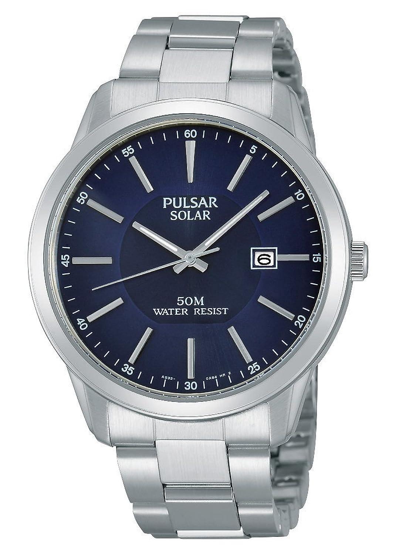 Pulsar Herren-Armbanduhr XL Modern Analog Quarz Edelstahl PX3021X1