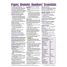 Pages, Keynote, & Numbers Essentials for Mac, versions x.2 Quick Reference Guide (Cheat Sheet of Ins: Written by Beezix Inc., 2014 Edition, Publisher: Beezix Inc. [Pamphlet]
