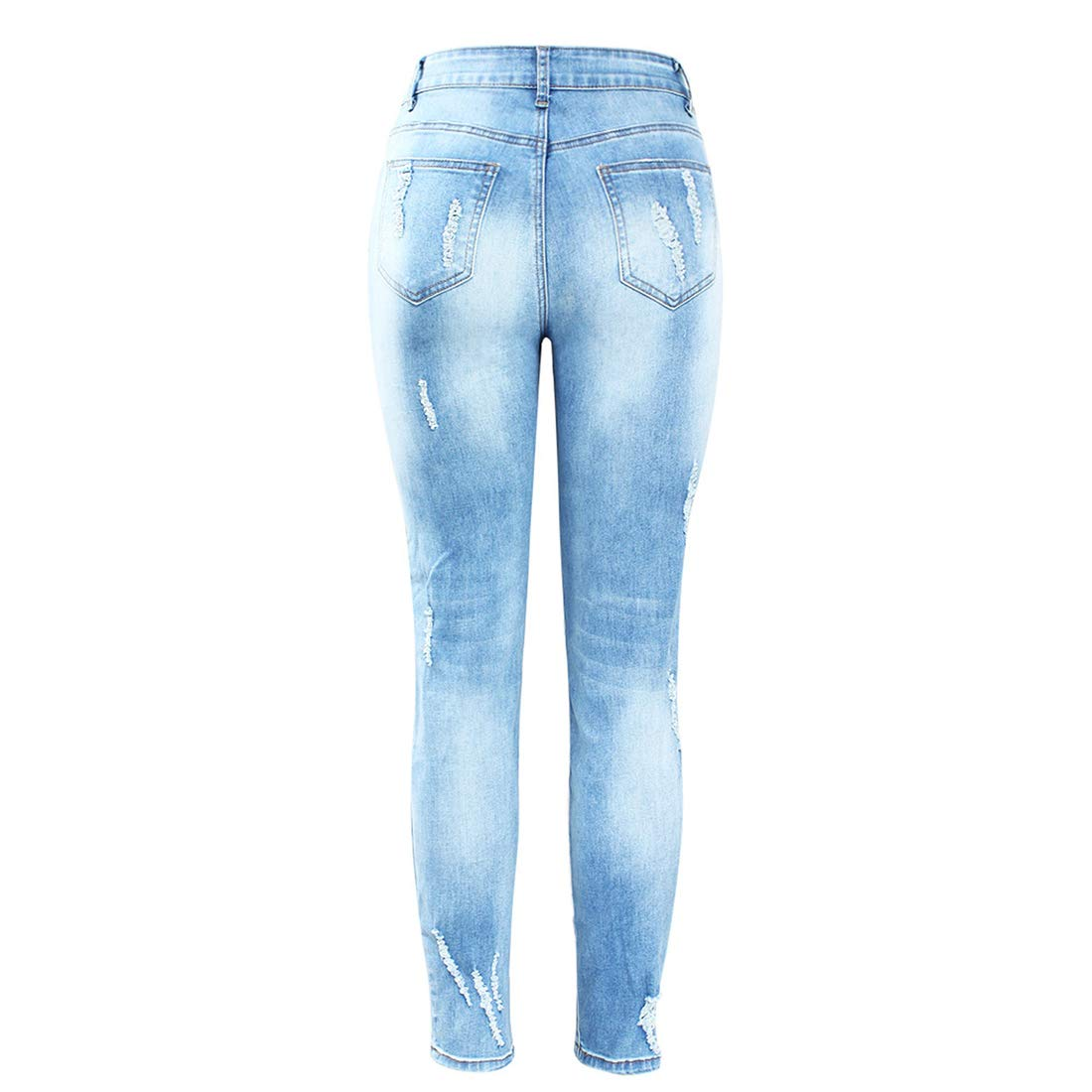 390c26dc29e8e jencla Plus Size Stretchy Scuffs 3D Embroidery Flowers Woman Denim Pants  Trousers for Women Jeans at Amazon Women s Jeans store