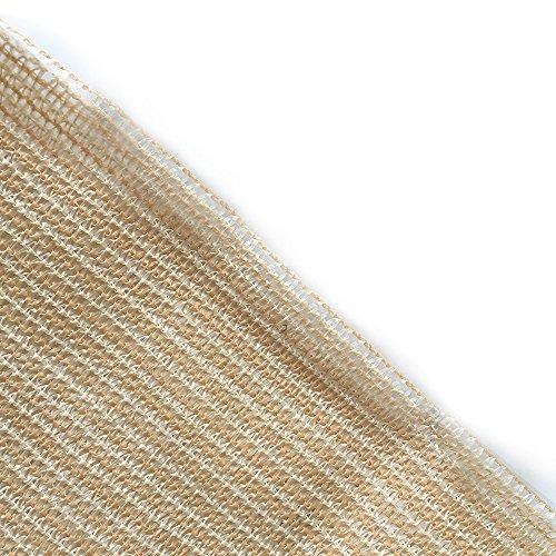 Shatex Shade Cloth Block 90% of UV Rays for Pergola/Greenhouses/Carport/Porch 8x30ft Beige