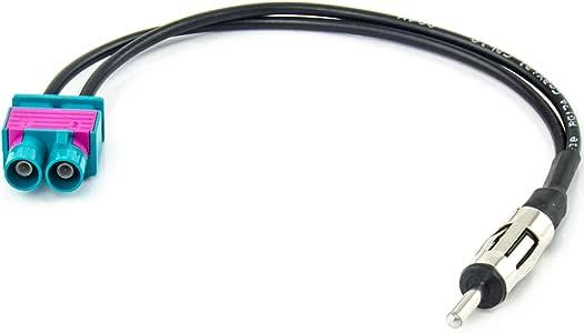 Antena adaptador din phantomeinspeisung AUDI SEAT SKODA VW antenas amplificador 12v