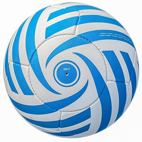 Bend-It Soccer Balls with VPM and VRC Technology, Size 5 - Curl-It Classic, Hand Sewn