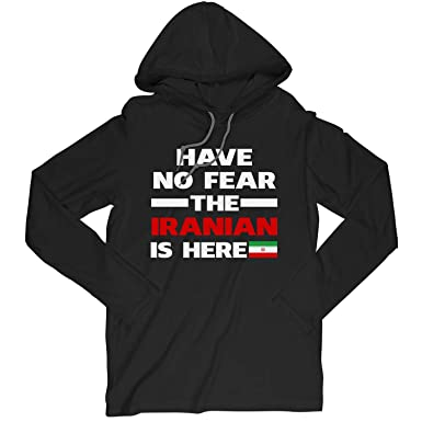 Amazon com: Have No Fear The Iranian is Here Proud Iran Pride Funny