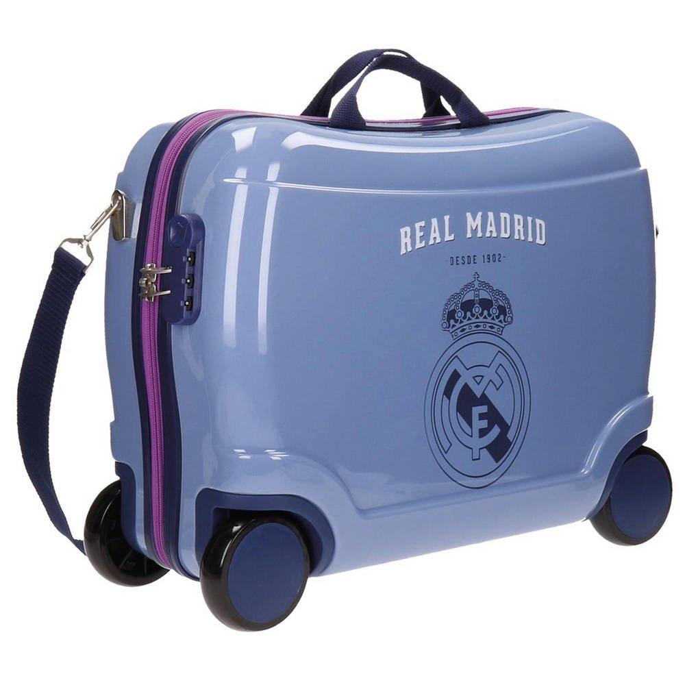 Real Madrid Rm Classic Kindergepäck, 50 cm, 34 liters, Violett (Morado)