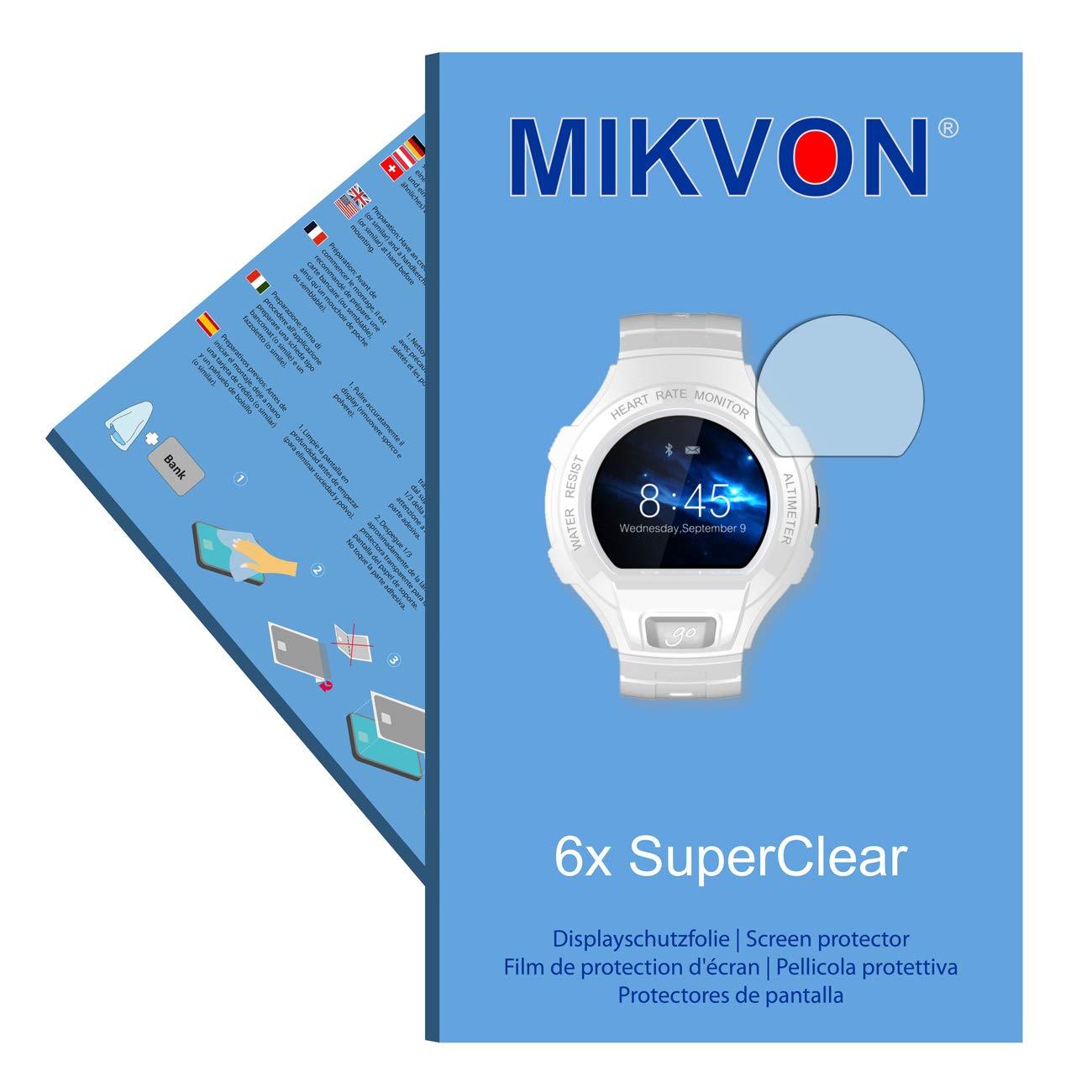 Mikvon 6X SuperClear Película de protección de Pantalla para ...