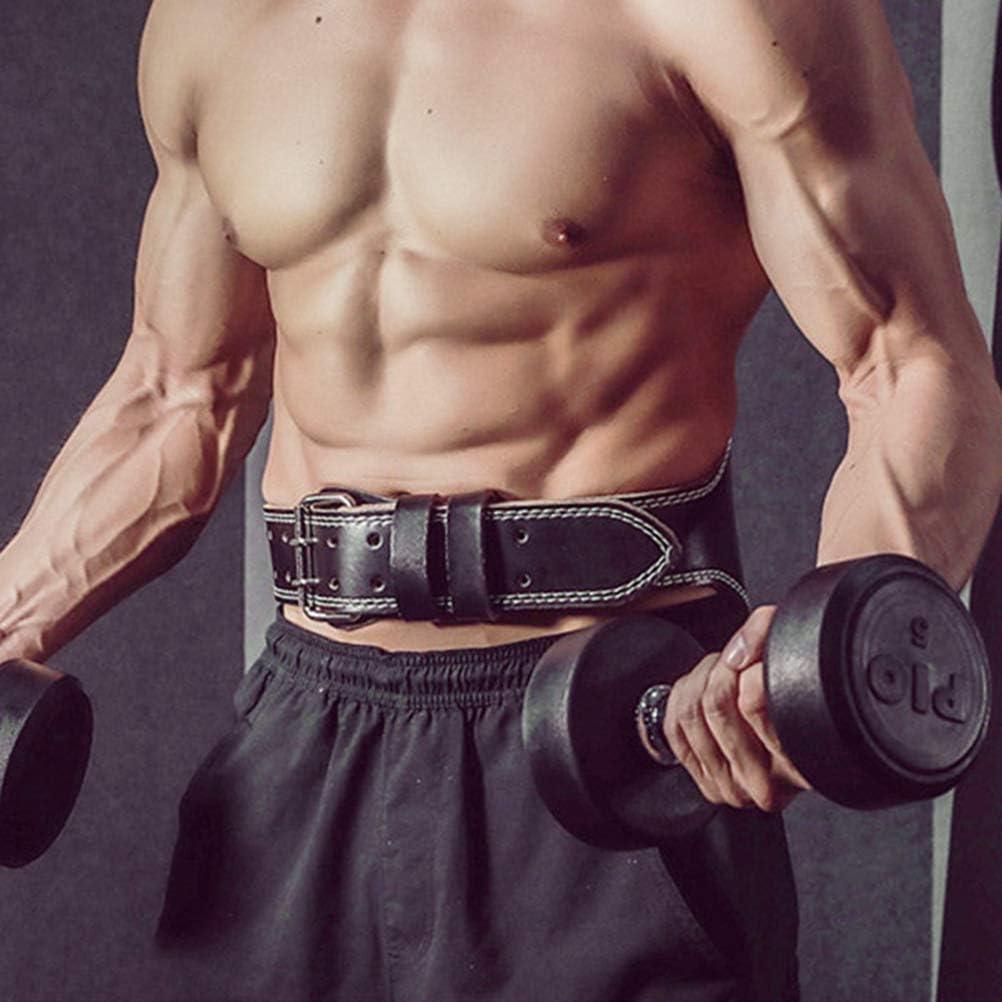 Haplws Halt/érophilie Ceinture de Gym Fitness Squats Musculation rembourr/é en Cuir PU Ceinture profil/ée Lombaire Dos Soutien Protecteur