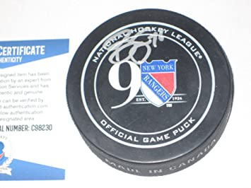 Brady Skjei Signed Rangers 90Th Anniversary Official Game Puck with -  Beckett Certified 590477a31