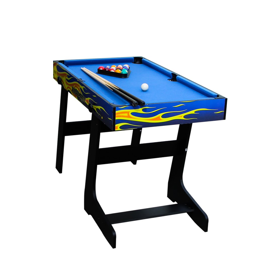 IFOYO Multi-Function 4 in 1 Steady Combo Game Table, Hockey Table, Soccer Foosball Table, Pool Table, Table Tennis Table, Yellow Flame, 48 in / 4 ft, Christams Gift by IFOYO (Image #7)