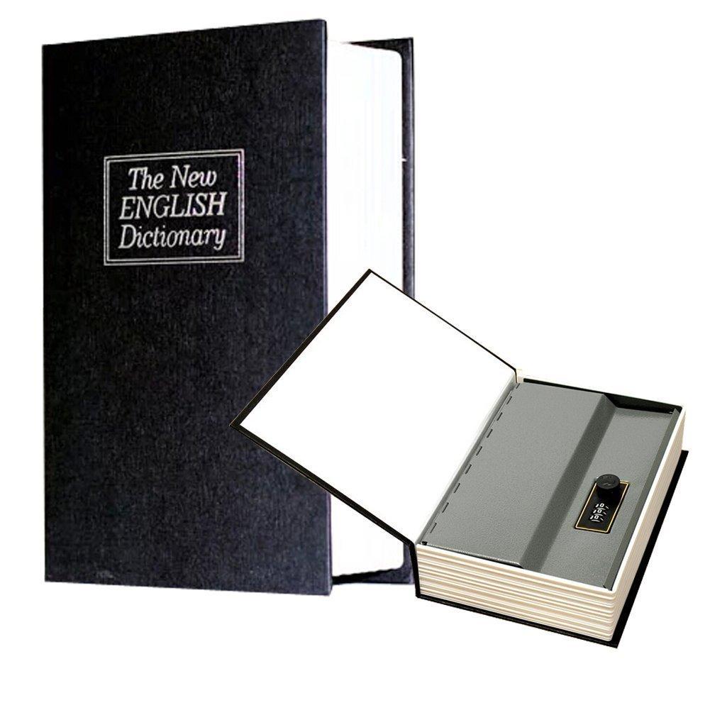 Libro cassaforte denaro nascondiglio sicuro Box libro Safe Cassetta Portavalori mimetizzato come–English Dictionary LINAATALES
