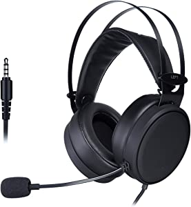 Gaming Headsets, ELEGIANT Xbox PS4 Gaming Headphones with Noise-Cancelling Mic PC Computer Headphones, Soft/Lightweight Design Over-Ear Gaming Headset for Nintendo Switch PS4 Xbox PC Laptop Mac