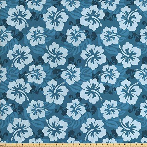 Hibiscus Print Fabric - 5