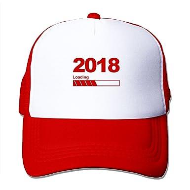 New Year 2018 Mesh Hat Adult Baseball Cap For Boys Girls Slogans ...
