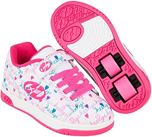 Heelys Dual Up X2 Shoes -White/Pink