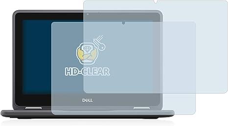 Anti-Fingerprint upscreen Schutzfolie kompatibel mit Dell Latitude 3190 2-in1 Kratzschutz Kristallklar