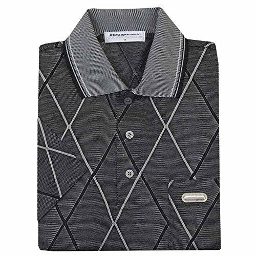 ポロシャツ メンズ 半袖 吸汗速乾 DUNLOP(ダンロップ) メンズ 男性用ゴルフポロ dp14