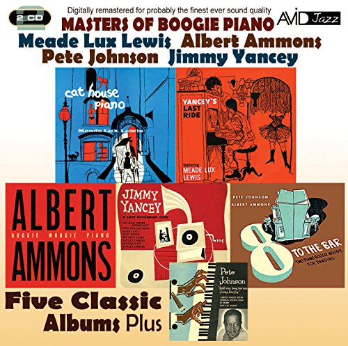 - Masters of Boogie Piano: Five Classic Albums Plus