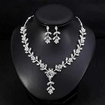 Amazon Com Aukmla Wedding Necklace Party Jewelry Event Jewelry