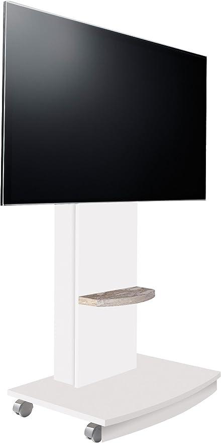 OVERHOME365 4238 B/V - Mesa TV, madera, color blanco y vintage ...