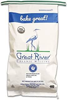 product image for Great River Organic Milling, Pancake Mix, Buttermilk, Organic, 25-Pounds (Pack of 1)