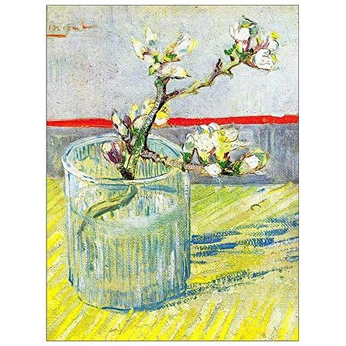 ArtPlaza Van Gogh Vincent - Almond Blossom branch Panneau Décoratif, Bois, Multicolore, 60 x 1.8 x 80 cmAS90548