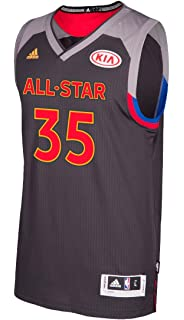 05521ca1824 adidas Kevin Durant Golden State Warriors NBA Black 2017 All Star Swingman  Jersey