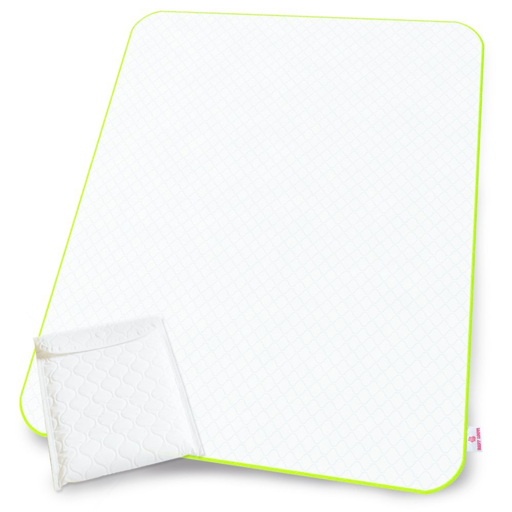Portable Changing Pad Large Size - White Changing Mat - Diaper Change Mat for Newborn Toddlers Boy Girl Multi-Functional Storage Bag BABY LOOVI BL-CANADA 102