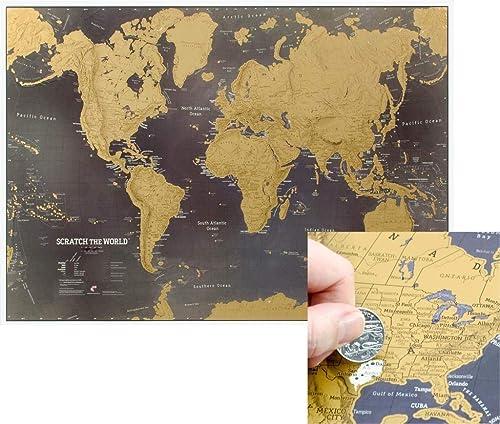 Carte Du Monde à Gratter Noire Télécharger Lire En Ligne Pdf