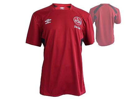 FC Nürnberg Entrenamiento Fútbol Jersey Niños Rojo el Club Fan Camiseta FCN Fútbol