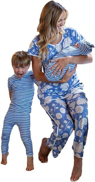 Baby Be Mine Juego de Pijamas a Juego para mamá y Hermana ...