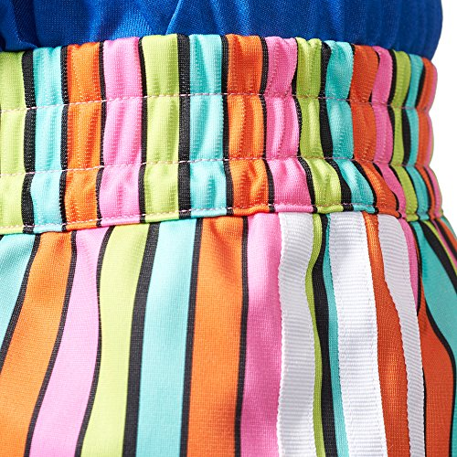 tessuto in Short donna multicolor shorts ADIDAS bunt Pantalone Stripes AJ8159 6tHqnYXWw