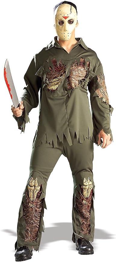 XL Men/'s Jason Costume Shirt and EVA Mask