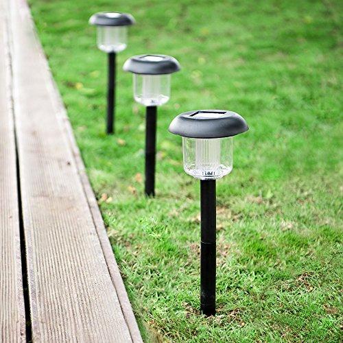 Solar Lights Outdoor, Oak Leaf Solar Pathway Lights LED
