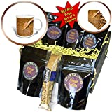 3dRose Alexis Photography - Food Honey - Wooden spatula in a liquid honey of light brown color - Coffee Gift Baskets - Coffee Gift Basket (cgb_271879_1)