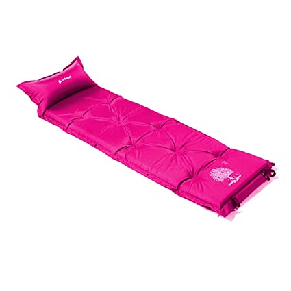 Camping colchón autoinflable MAT chanodug Blow Up dormir almohadilla de espuma con efecto memoria para cama