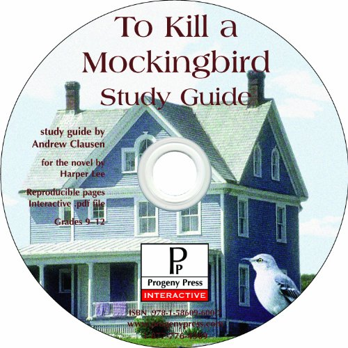 To Kill a Mockingbird Study Guide CD-ROM