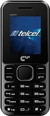 """Nyxmobile XYN 306 Celular Básico 3G, Pantalla 1.77"""", Cámara 1.3 Mp, color Negro"""