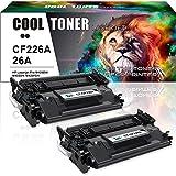 Cool Toner 2 Packs CF226A 26A Toner Cartridges Compatible for HP 26A CF226A Toner HP LaserJet Pro M402dn M402n M402d M402dw , LaserJet Pro MFP M426dw M426fdw M426fdn , M402 M426 Series Printer
