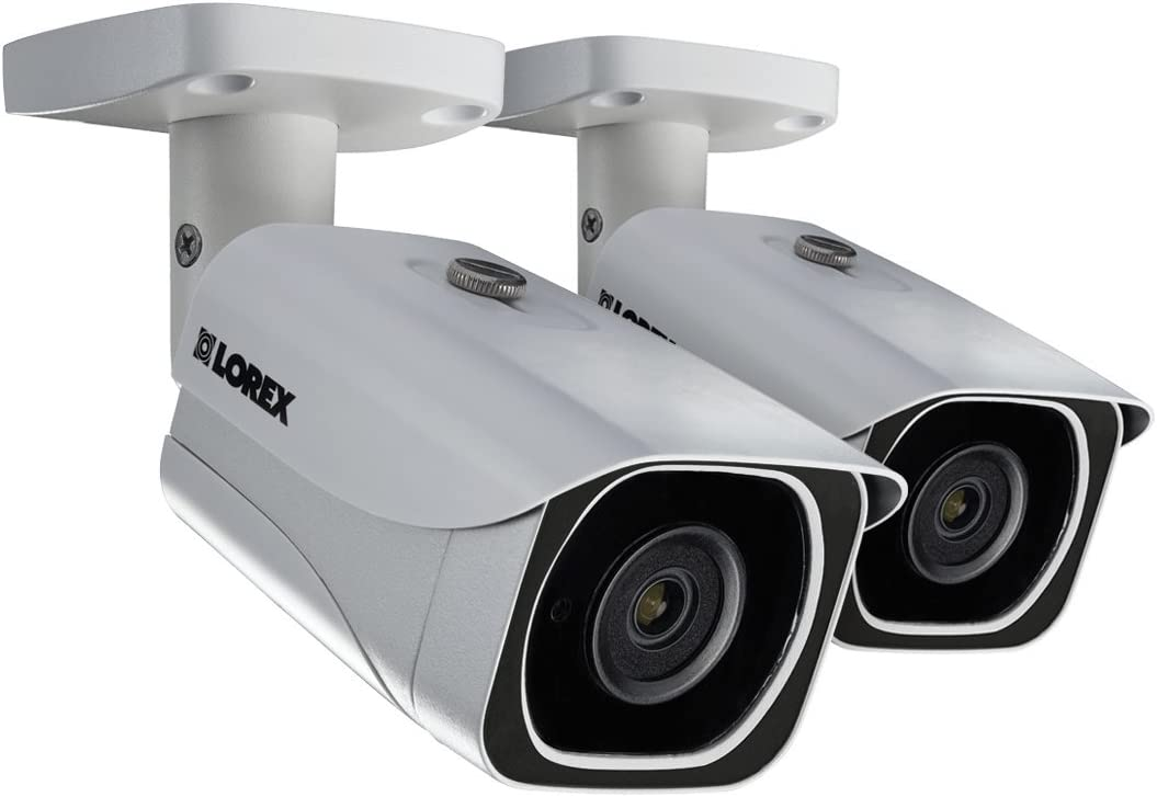 Lorex 8MP 4K LNB8111B Bullet Camera 2-Pack